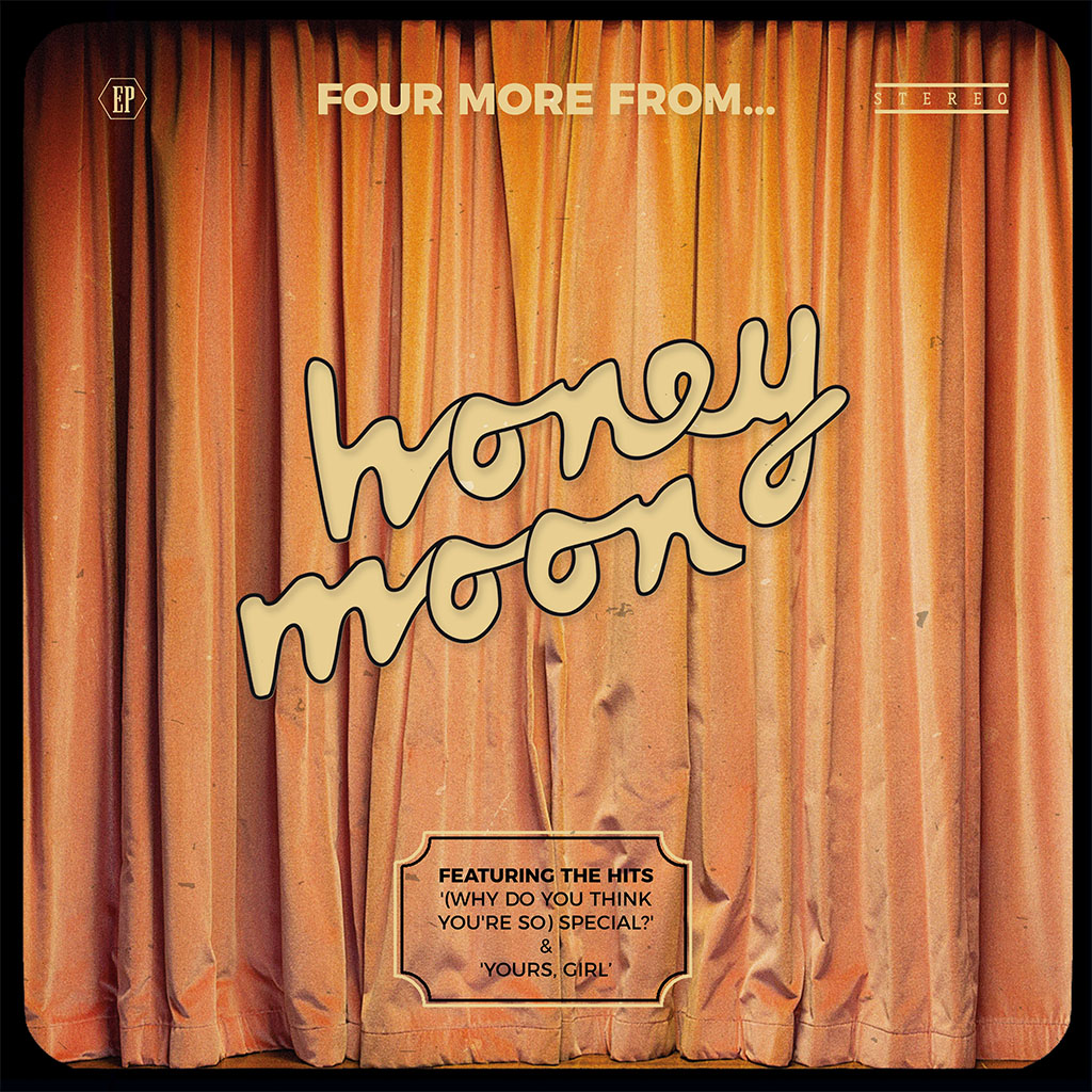 Honey Moon - Four More From... EP - EP Cover Art
