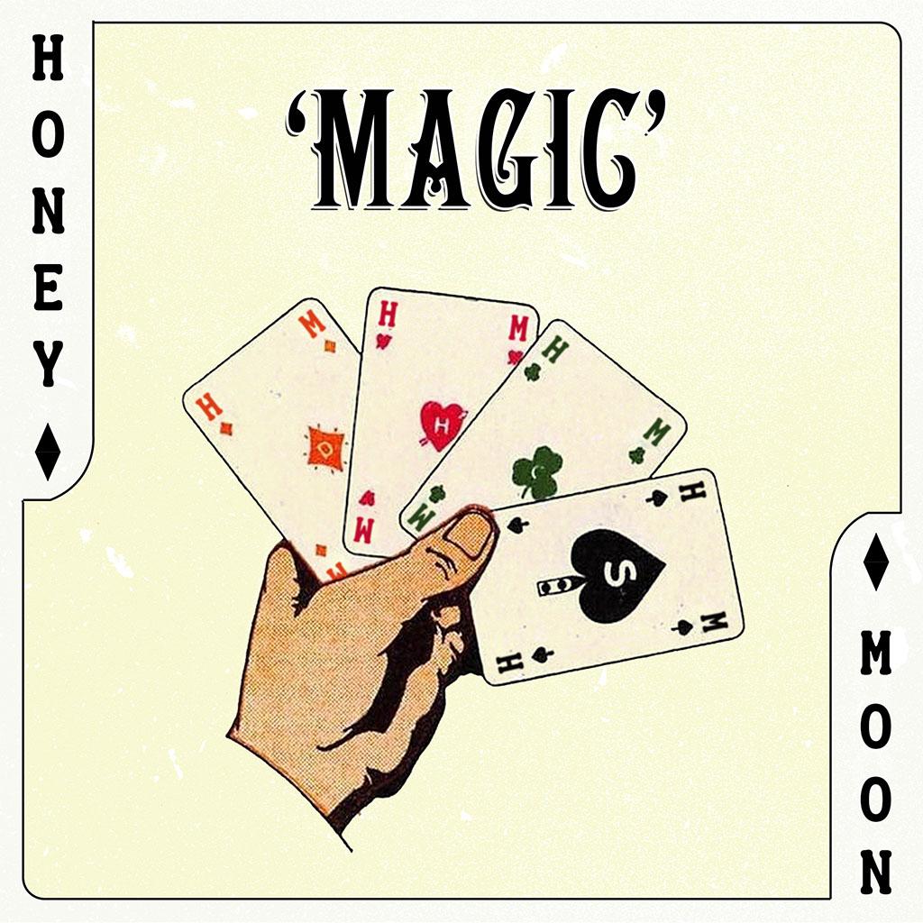 Honey Moon - Magic - Single Cover Art