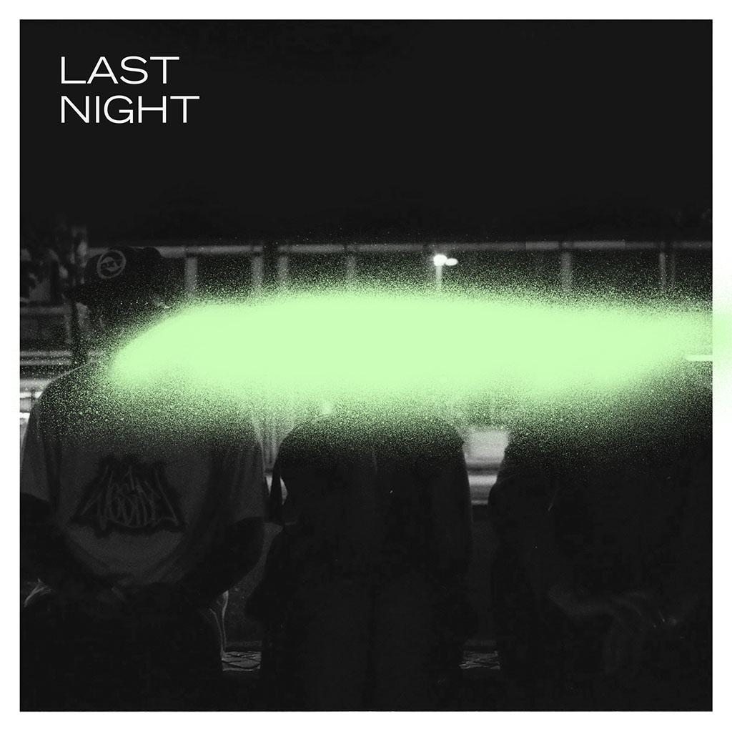 Simian Ghost - Last Night - Single Cover Art