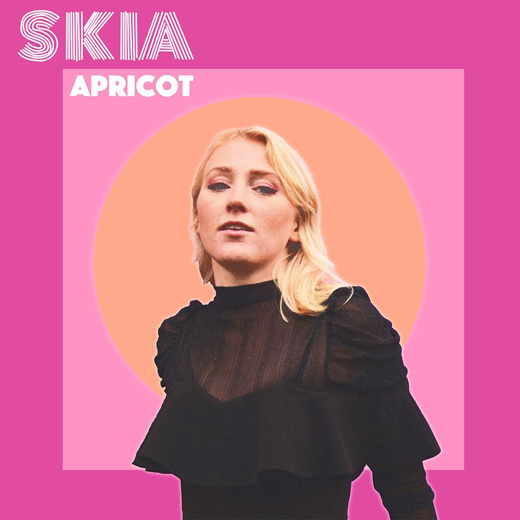 SKIA - Apricot EP - EP Cover Art