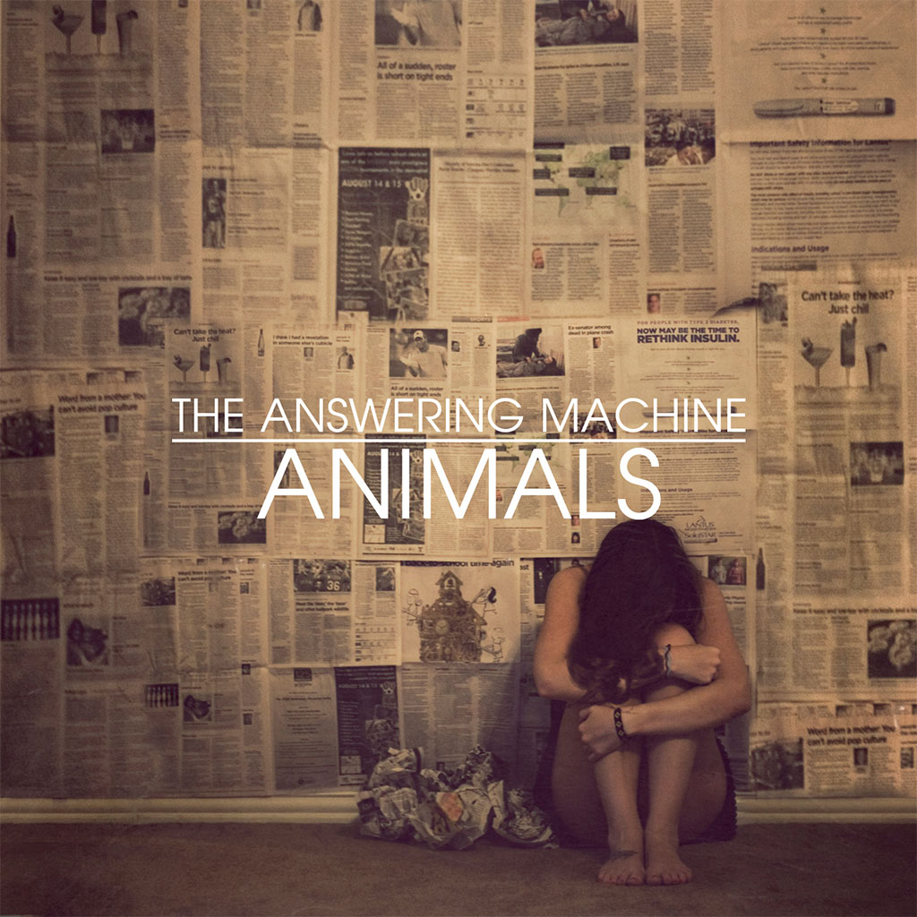 The Answering Machine - Animals - Single Cover Art
