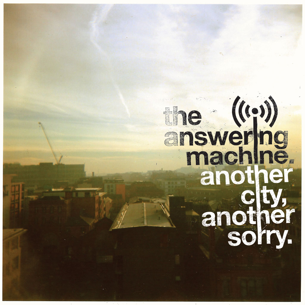 The Answering Machine - Another City, Another Sorry - Album Cover Art