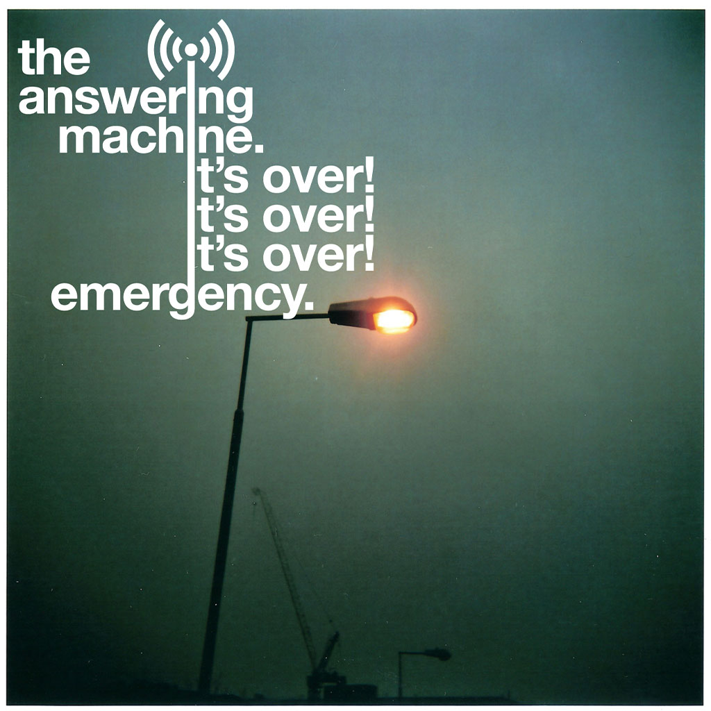 The Answering Machine - It's Over! It's Over! It's Over! / Emergency - Single Cover Art