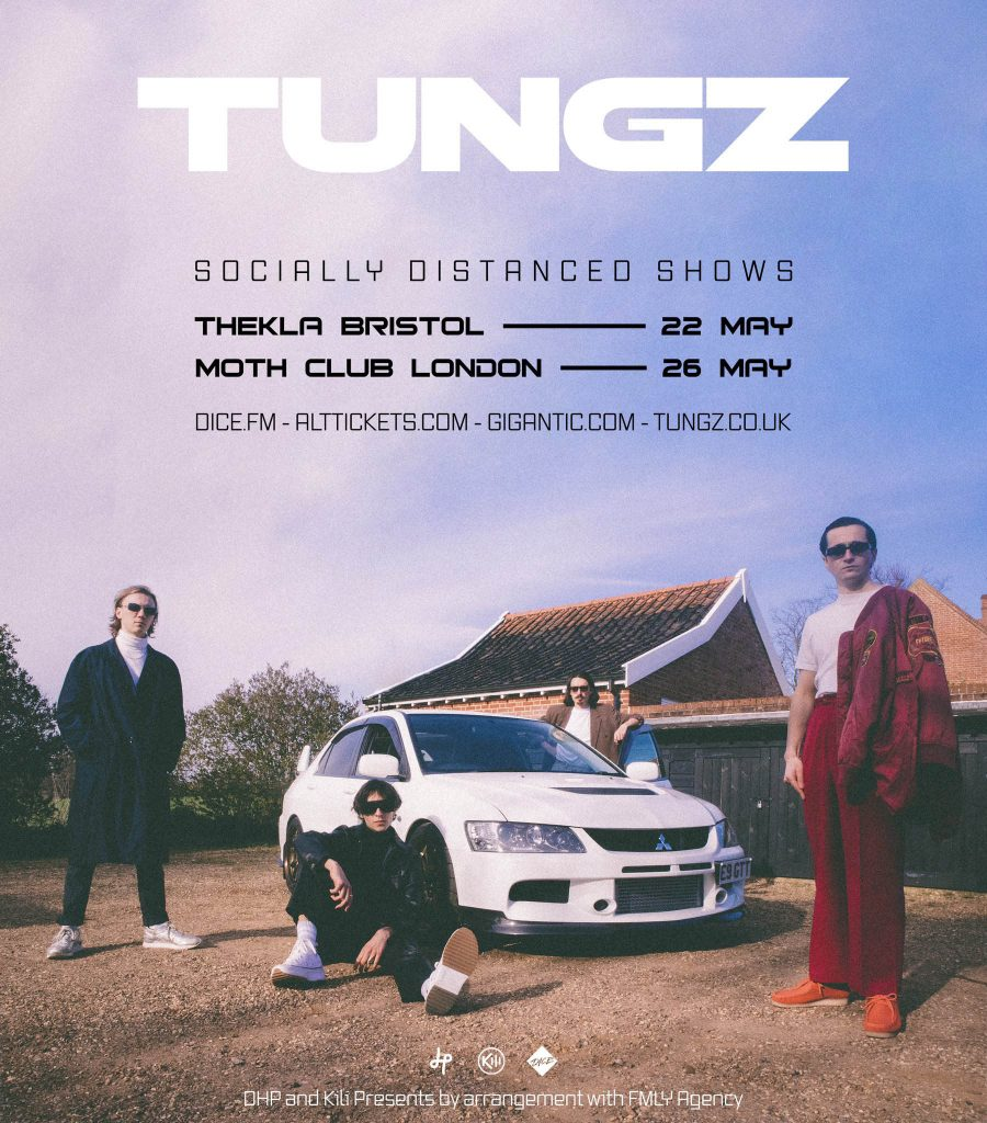 Tungz - June 2021 - Tour Poster